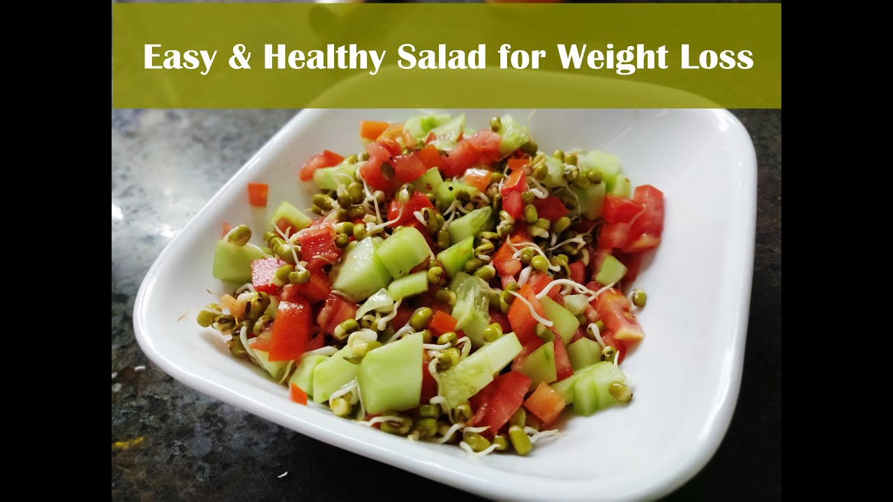 Healthy Salad | Quick & Easy Recipe for Weight Loss ...